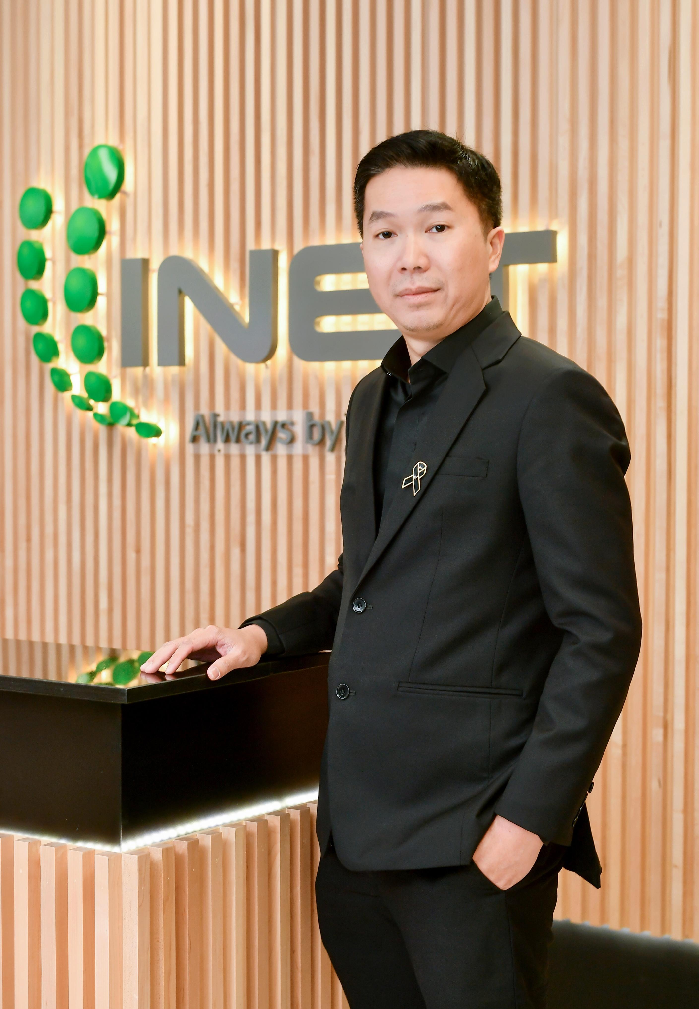 วัลล์ชัย เวชชีวะดำรงค์ รองกรรมการผู้จัดการ บริษัท อินเทอร์เน็ตประเทศไทย จำกัด (มหาชน)